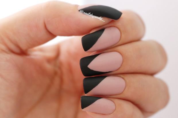 decorated fingernails