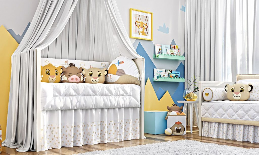 Baby Bedroom Little Friends The Lion King