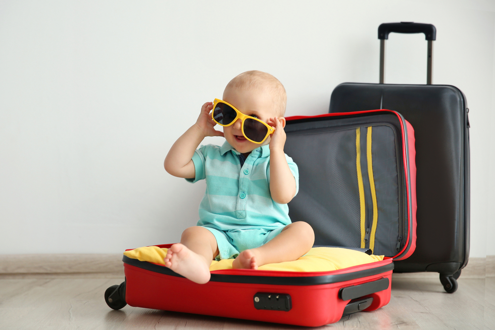 travel with the baby