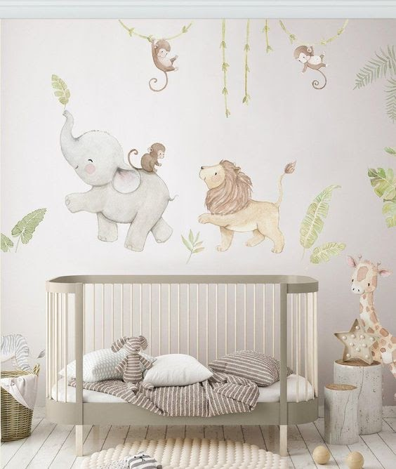 how to decorate a nursery