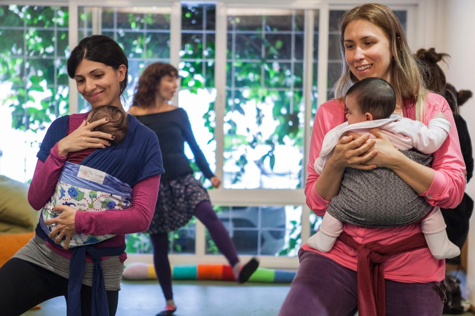 Activities for babies: maternal dance