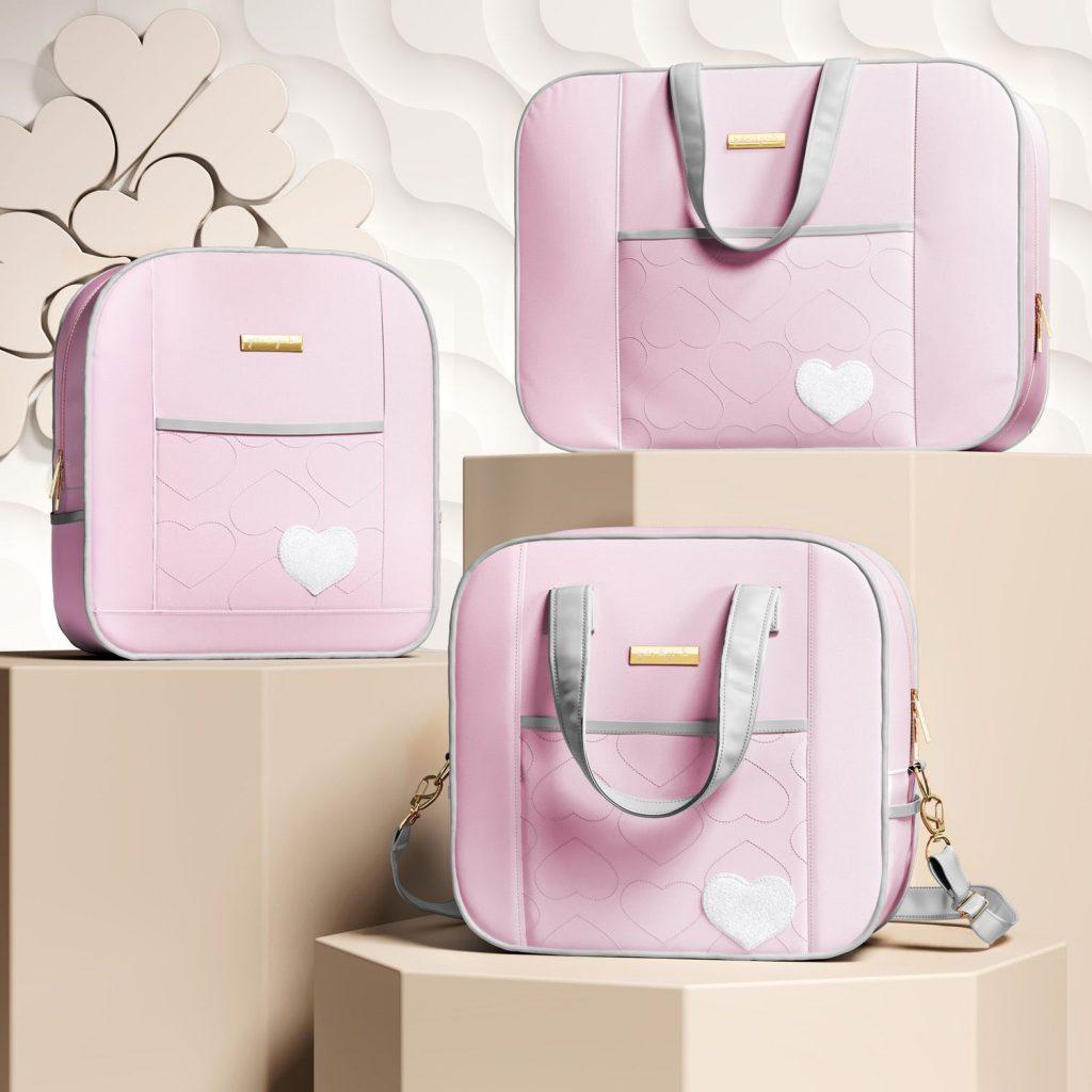 nap-bag-and-socket-maternity-cow-pink-grey-03-pcs-321621
