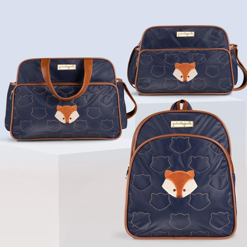 rucksack-bag-and-blue-black-breast-fox set-305572