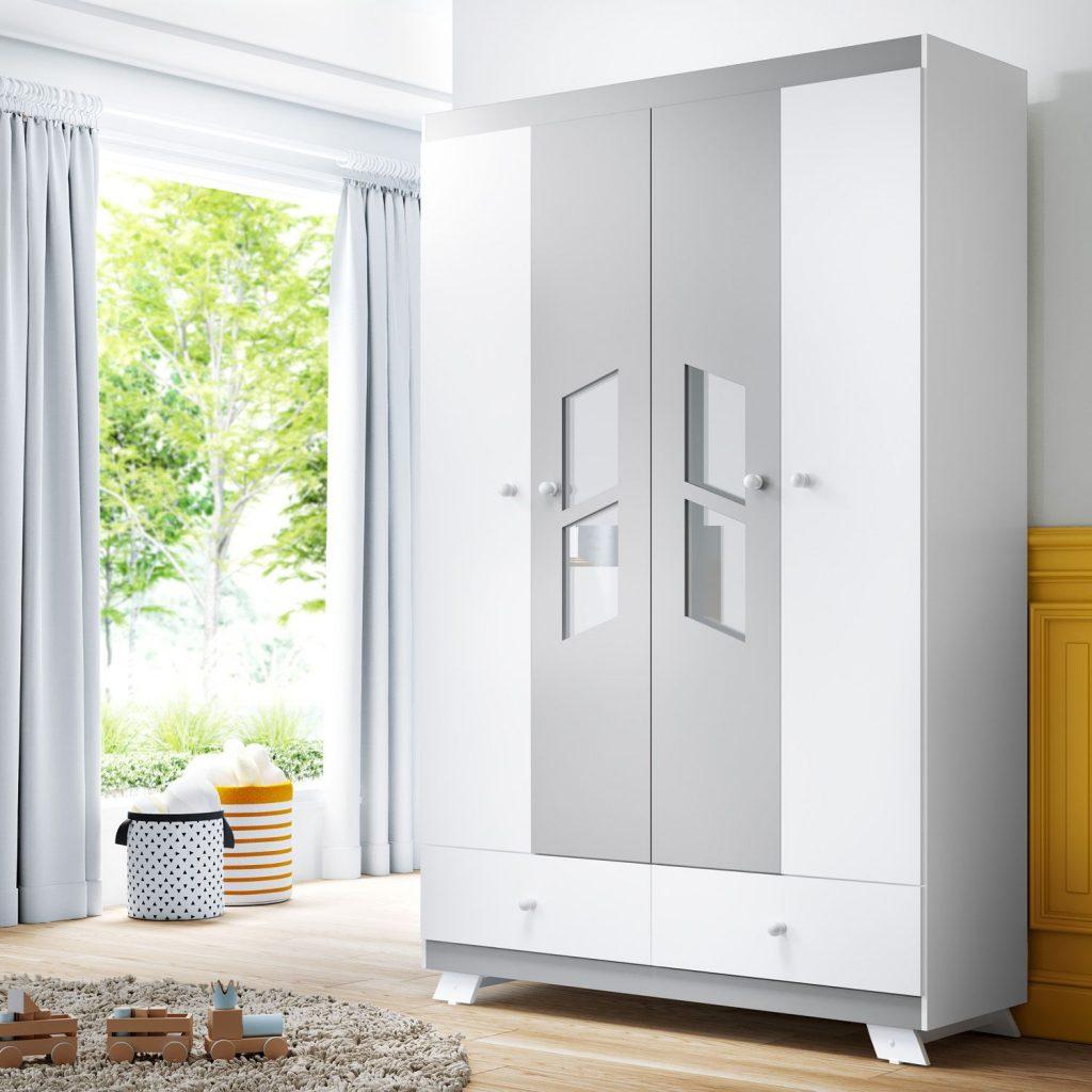 wardrobe-4-door-2-white-grey drawers-retro-chick-box-313121