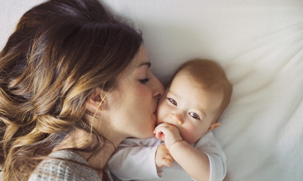 kiss the baby