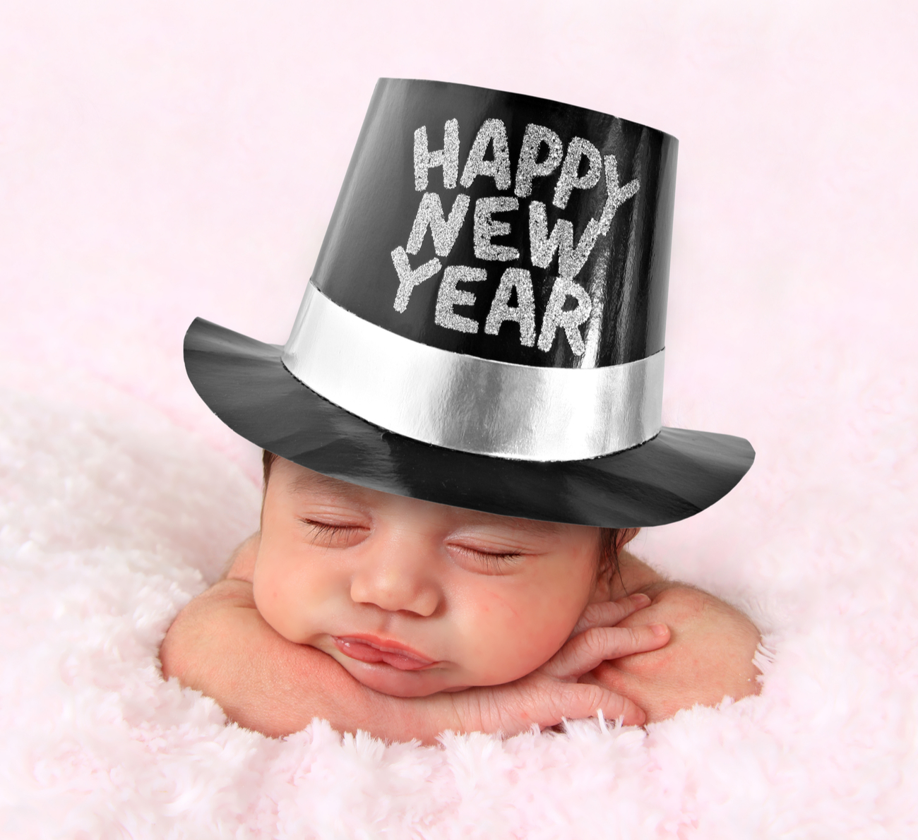 baby on new year
